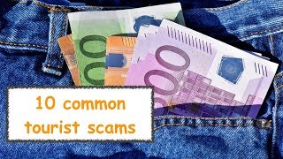 Tourist Scams in Europe |How to be safe