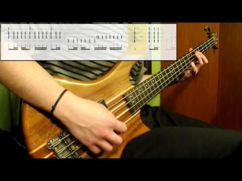 Tool - Sober (Bass Cover) (Play Along Tabs In Video)