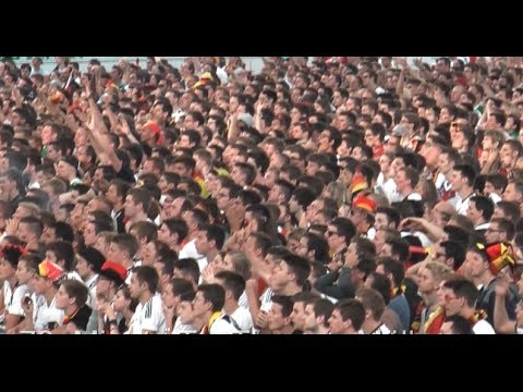 WM 2014 Deutschland vs. Portugal 4:0 Public Viewing Frankfurt