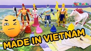 ĐỒ CHƠI CAO CẤP MADE IN VIỆT NAM: SƠN TINH THỦY TINH - ToyStation 15