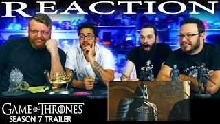 Game of Thrones Season 7: Official Trailer REACTION!!