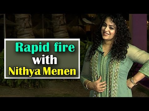 RapidFire with Actress Nithya menen | Exclusive interview
