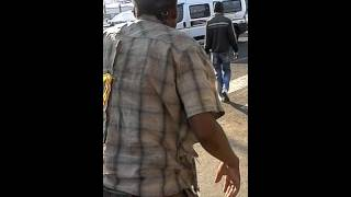 Radijo at Gaborone Bus rank Botswana