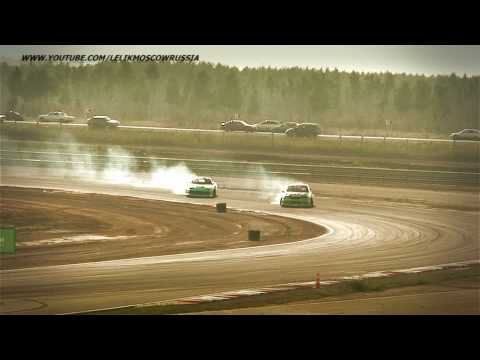 TOP4 (все заезды) 4 stage NRING RDS Russian Drift Series 2010