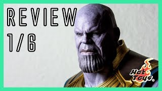 Hot Toys Thanos 👾 Avengers Infinity War 1/6 figure review MMS479