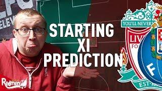 Liverpool v Porto | Starting XI Prediction LIVE