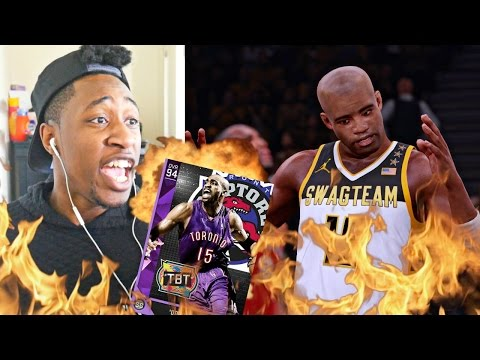 OMFG! VINCE CARTER IS THE F*CKING GOAT! PLAYOFFS MOMENTS PACK N' PLAY Vs YG PART 2 - NBA 2K16 MYTEAM