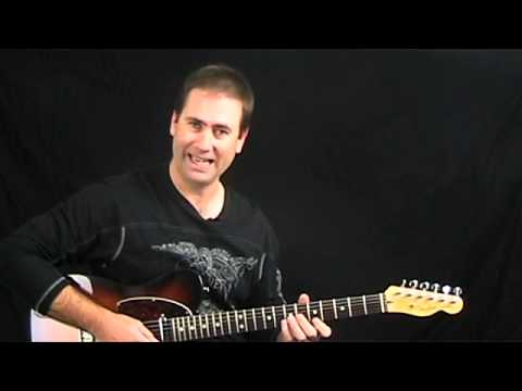 Blues/Rock Guitar Lesson - Repeating 4 Note PullOffs Jimmy Page Style Lick