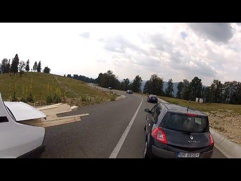 Aventuri pe bicicleta : Transalpina Trip - Coborare cu bicicleta
