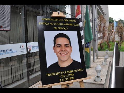 Homenagem aos oficiais de Justiça assassinados no Brasil