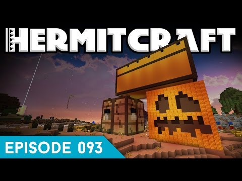 Hermitcraft IV 093 | GIANT PUMPKIN PRANK! | A Minecraft Let's Play