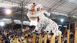 冠軍隊 - 臺灣基隆長興呂師父龍獅團 2013 International Lion Dance Competition 2013