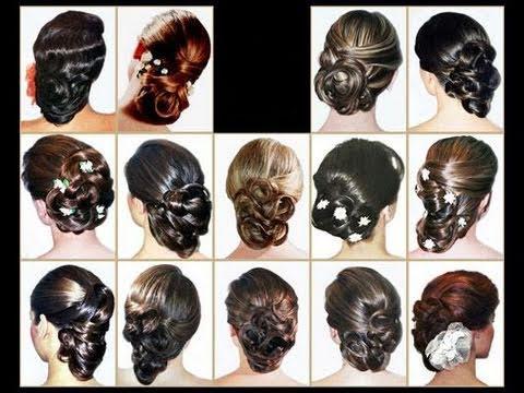 *Peinados*Recogido para boda,etc.. fácil de hacer