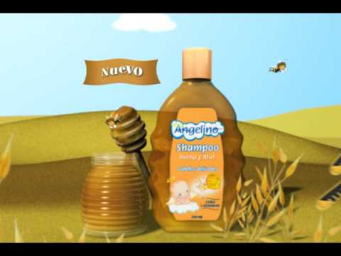 Shampoo Angelino Avena y Miel. El guardian de la ternura.