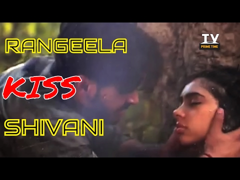 OMG ! Rangeela Kisses Shivani in Ghulam | On Location | TV Prime Time