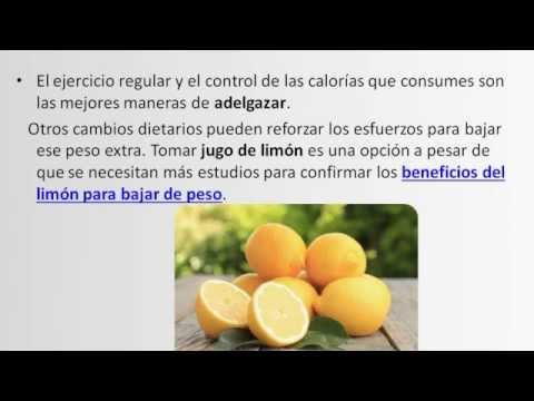 Dieta del limón para Adelgazar la grasa del Barriga