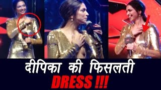 Deepika Padukone suffers wardrobe MALFUNCTION at xXx premiere; Watch video | FilmiBeat