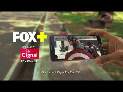"CIGNAL TV ""FOX+APPS"" 2017"