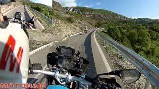 Unexplored Albania, Kukes to Peshkopi new road BMW R 1200 GS touring