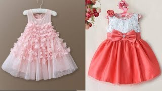 Latest Party Wear Frocks for Baby Girls