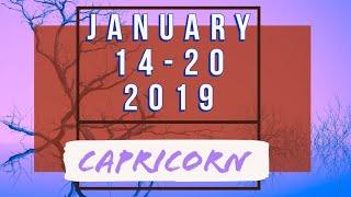 CAPRICORN ♑ Weekly Tarot 14-20 January 2019 •||• Shot Through the Heart