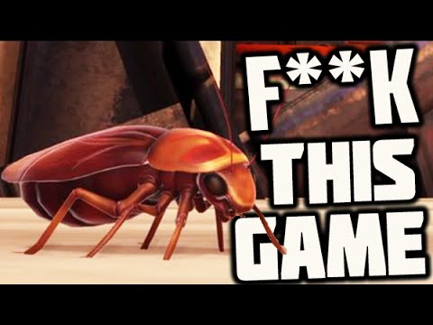 Cockroach Simulator - I HATE THIS GAME, RAGE (GAMEPLAY FAIL)