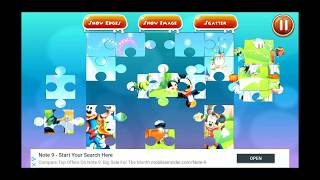 Disney Mickey Minnie Mouse Music Jigsaw Puzzle
