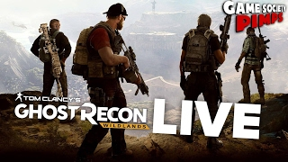 (Early Access) Ghost Recon Wildlands - LIVE STREAM - Game Society