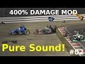 download Automobilista HUGE Crashes #02 | 400% Damage Mod | NO MUSIC