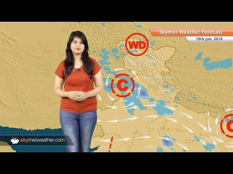 18 जून मौसम पूर्वानुमान: दिल्ली, चंडीगढ़, मुंबई में वर्षा