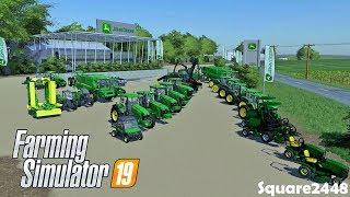 Expanding Inventory | New Equipment & Attachments | John Deere Dealership | Farming Simulator 19