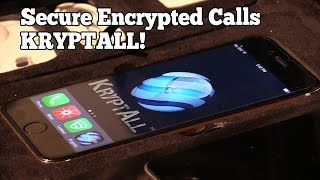 Encrypt Your Calls! KryptAll at the NY Luxury Tech Show