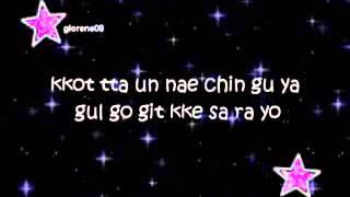 Lagu Happy Birthday Versi Korea Lyric
