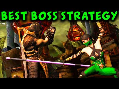 Assassin Jade Challenge (HARD). Review and Tips how beat BOSS Jade. MKX Mobile.