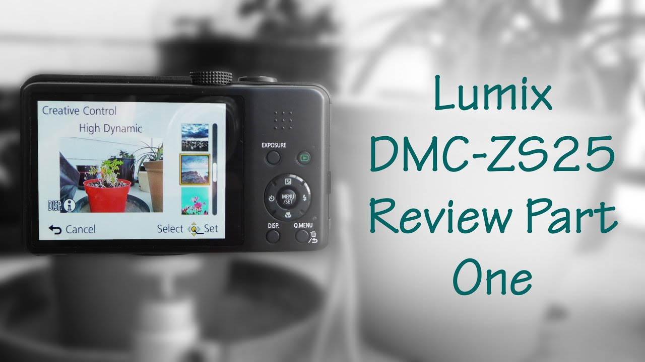 Amazon com: Panasonic Lumix DMC-ZS25 16 1 MP