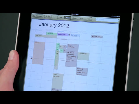 How to Add an ICS Calendar to an iPad : iPad Tips