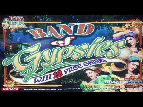 Konami – Band of Gypsies Slot Line Hit