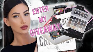 I GOT IT!!! Jeffree Star Cosmetics CREMATED PALETTE GIVEAWAY 🖤