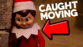 ELF on the SHELF Caught on VIDEO moving. (3 AM!) YOU WON'T BELIEVE THE ENDING