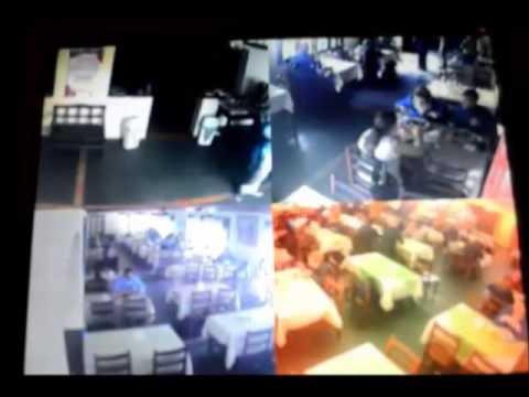 Ladrão de bolsas atua em restaurantes de Curitiba