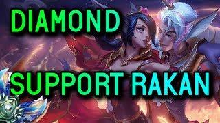 SUPPORT RAKAN S8 Diamond Full Gameplay  - League of Legends
