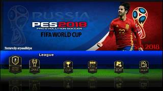 Download Savedata & Textures PES CHELITO V4 Spesial FIFA World Cup Russia 2018 4.7 MB