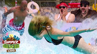 BELLY FLOP COMPETITION (Smosh Summer Games)