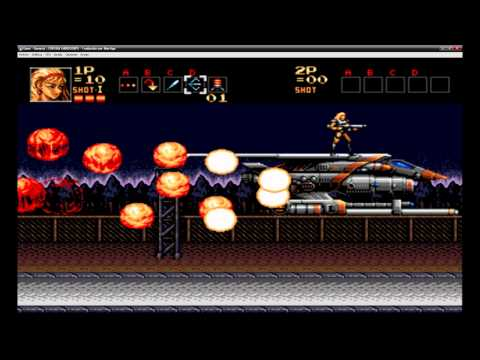 Misc Computer Games - Contra - Energy Zone