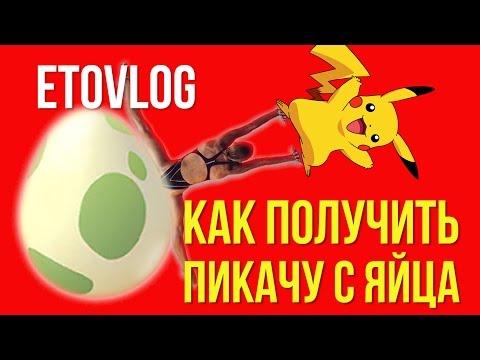 КАК C ЯЙЦА ПОЛУЧИТЬ ПИКАЧУ POKEMON GO / I GOT PIKACHU |ETOVLOG-14|