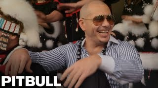 Pitbull Visits Kodiak, Alaska - Walmart and Sheets Challenge