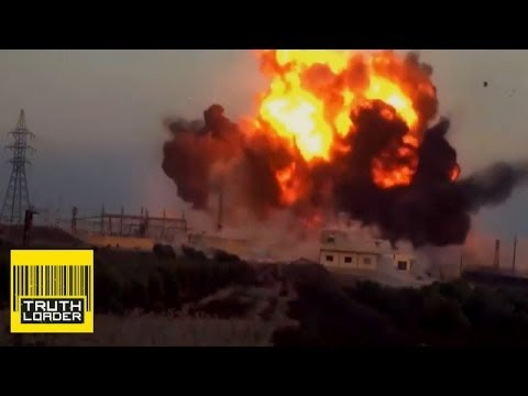 Jabhat al-Nusra suicide bomb attack in Jasim, Syria - Truthloader
