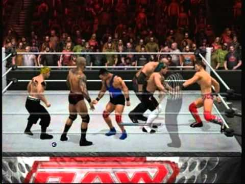 WWE SvR 2011 (Xbox Live): 6 Man Elimination Tag Team Match