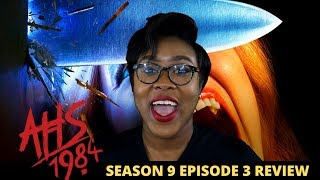 AHS 1984 Season 9 Episode 3 Review SLASHDANCE
