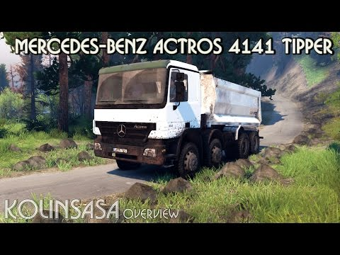 Mercedes-Benz Actros 4141 Tipper